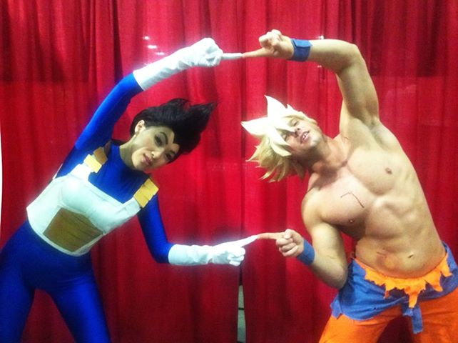 Cosplay Dragon Ball Vegeta