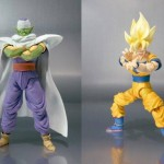 Piccolo and goku shf