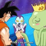Dragon Ball Super handshake