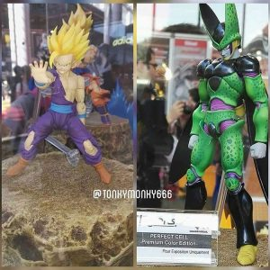 Figuarts battle damaged gohan and premium cell